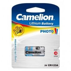 Μπαταρία Λιθίου Camelion Photo CR123A 3V